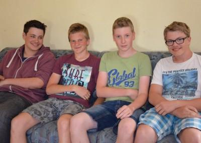 Die Jungs :-)