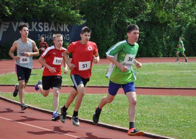 Reischl Andreas beim 2000m Lauf