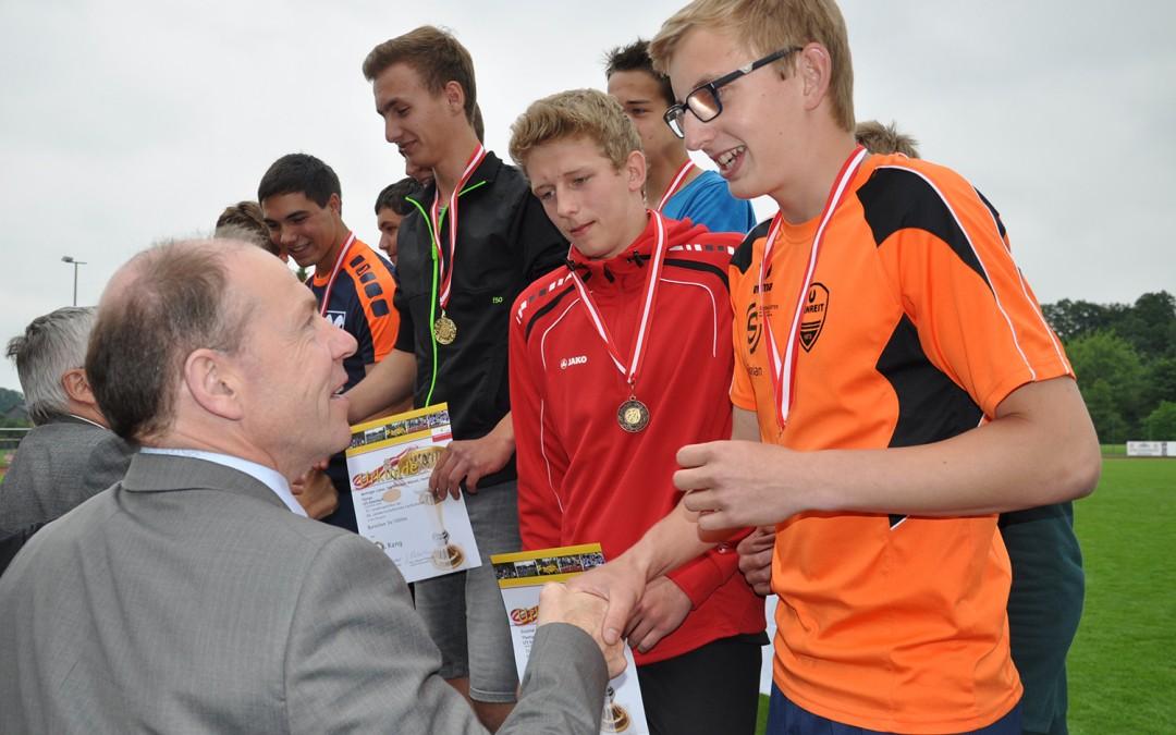 Erfolgreich beim Landessportfest 2015
