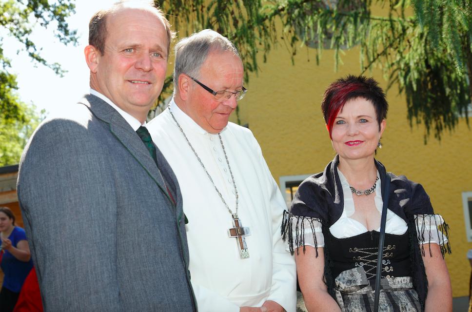 Schlägler 3-Gestirn :-) Direktor, Abt und Bürgermeisterin