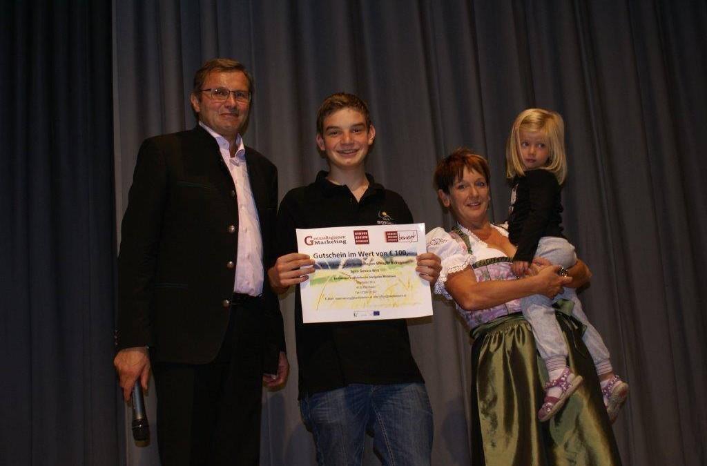 Schüler ist Gewinner beim Genussfest in Rohrbach