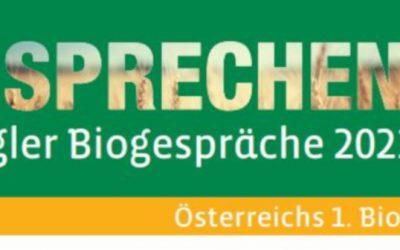 18. Biogespräche Programm